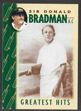 WEETBIX DON BRADMAN GREATEST HITS CRICKET CARD # 2 of 16