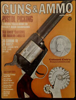 Magazine GUNS & AMMO January 1966 !WINCHESTER Model 99 Thumb Trigger .22 RIFLE!