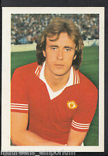 FKS CALCIO-EURO CALCIO STARS'77 ADESIVO n. 73-SAMMY McILROY-MAN UTD