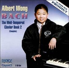 Albert Wong, 10-year old prodigy plays Bach: Well-Tempered Clavier, Book 2  2 CD