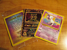 SEALED Pokemon ANCIENT MEW+Black Star PROMO Card NM MEW#8 League Movie Set WOTC