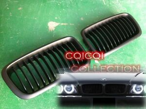 Matte Black BMW 99-01 E38 7-Series front grille grill ◎