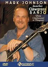 Mark Johnson Teaches Clawgrass Banjo Learn Clawhammer Bluegrass Music DVD