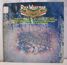 """33 tours RICK WAKEMAN Disque LP 12"""" JOURNEY TO THE CENTRE OF THE EARTH -AM 63621"""
