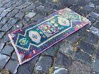 Turkish rug, Vintage rug, Handmade rug, Small rug, Doormats | 1,2 x 2,4 ft