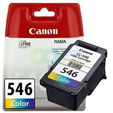 Genuine Canon cl-546 INCHIOSTRO COLORE PER PIXMA mg2450 mg2550 mg2950 mg3050 mg3051