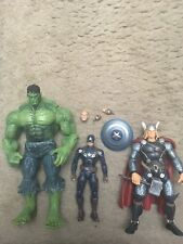 Marvel Legends Marvel Select Toybiz Hulk, Black Widow, Ultron Avengers Lot