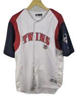 Minnesota Twins MLB Baseball Genuine Merchandise Men's L Button Up Jersey White