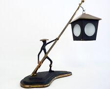 Seltene Vintage Deko Lampen Laternenträger Messing Hagenauer Ära 50er 60er Jahre