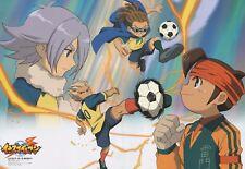 poster promo Inazuma Eleven anime DuRaRaRa Masaomi Mikado Mamoru Shuya Shirou