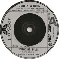 "Godley & Creme - Wedding Bells  7"" Vinyl  45rpm Ex Con"
