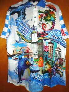 ROBERT GRAHAM GRAND PAUL LIMITED EDITION XL SPORT SHIRT  NEW