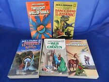 Lot of 5 Jack Chalker;Nathan Brazil,Dance Band-Titanic,Twilight at Well of Souls