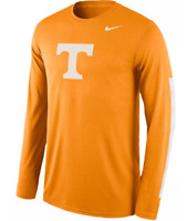 Tennessee Volunteers Mens Nike DNA Logo Long Sleeve DRI-FIT T-Shirt- XL & L NWT