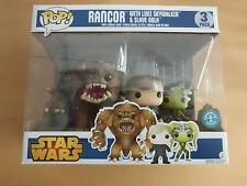Funko POP! Star Wars Rancor 3 Pack Underground Toys Exclusiv !