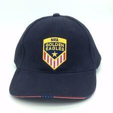 NRA Golden Eagles Club Americana Ball Cap Hat American Flag Gold Star Navy