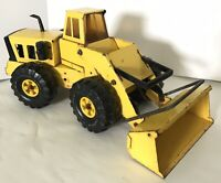 Vintage Tonka Truck Front End Loader 1970s Pressed Steel Construction XMB-975