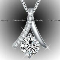 BLACK FRIDAY DEALS Diamond Silver Jewellery Xmas Gifts For Her Women Wife Mum X1