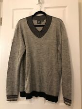 Armani Exchange Mens V Neck Sweater Size XL
