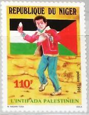 NIGER 1991 1126 829 Palestinian Uprising Palästinenserauftand Intifada MNH