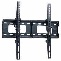 1TV Wall Mount Bracket Flat 15° Tilt Swivel For 32 40 42 46 50 52 55 60 65 Inch