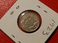 1923 Poland 20 Groszy - Great Coin - See Pictures