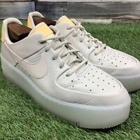 UK8.5 Womens NIKE AIR FORCE 1 SAGE Beige Low Top Trainer - BV1976-100 -US11 EU43