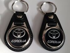 TOYOTA COROLLA 2 PACK OF Keychains CAR LOGO FOB