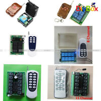 1/4//6/8/12/15 Channel 12V 315MHZ RF Remote Control Transmitter Receiver Module