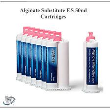 Alginate Substitute Alternative 50ml Cartridges Fast Set Mark3 9010