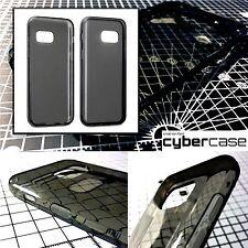 Original Samsung Galaxy A3 2017 Case High Impact Gel Smoke Black By Cybercase