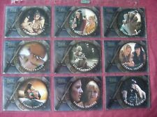 The Quotable Xena X9 Eternal Friends Foil chase set Rittenhouse 2003 VFN