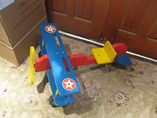 Vintage Ride On Airplane KidsToddler Toy LOCAL PICK UP ONLY IN NJ