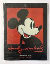 Andy Warhol Estate Foundation Mickey Mouse 6 Prints Portfolio 1989, Pop Art