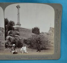 Stereoview Photo India Lucknow Siege Memorial To Sir Henry Lawrence Underwood
