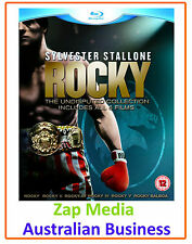 ROCKY - THE COMPLETE BLU RAY SAGA - MOVIES 1, 2, 3, 4, 5 & 6 - NEW AND SEALED