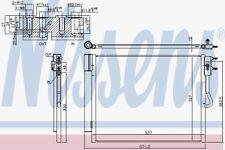 1850355 13361820 39032301 Radiatore Clima Opel Meriva B 1.6 CDTi dal 2010