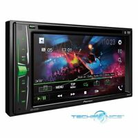"PIONEER AVH-A205BT 6.2"" TOUCHSCREEN USB DVD CD BLUETOOTH CAR DOUBLE DIN STEREO"