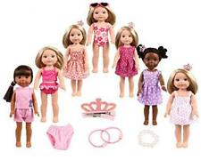 14-15 inch Doll Clothes&Accessories 7set Clothes fit American Dolls.