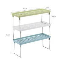 NEW Superimposable Standing Kitchen Ingredients Storage Organizer Shelf Rack