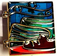 Disney Cast Exclusive 2010 Stained Glass, CRUSH, Hinged LE Pin