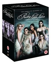 PRETTY LITTLE LIARS COMPLETE SEASON 1-6 REGION 4 BOXSET 33 DISC SET NEW & SEALED