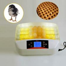 New listing 32 Eggs Practical Automatic Poultry Incubators with Egg Candler Us Hatcher