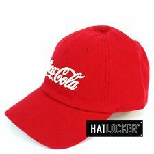 American Needle - Coca Cola Ballpark Red Strapback