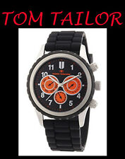 TOM TAILOR ELEGANT MULTI FUNCTION FULL CALENDAR MEN'S WATCH VERY NICE NEW