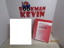 McDougal Littell Math  Remediation Book Grade 6-8 VG w/ answer key (R5S7-3)076