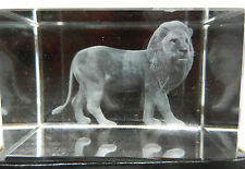 Crystal Glass Ornaments/Figurines/Lion Collectables