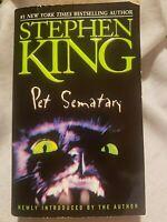 Pet Sematary Stephen King Paperback Book 2001 Pocket Book