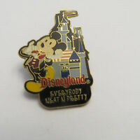 Disney DLR Passport to Our World Disneyland Mickey Mouse Pin