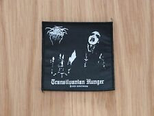 DARK THRONE - TRANSILVANIAN HUNGER (NEW) SEW ON PATCH OFFICIAL BAND MERCH